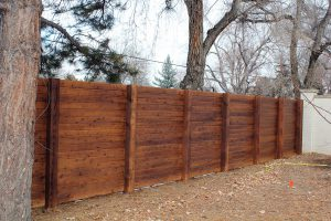 Tongue and groove horizontal privacy fence